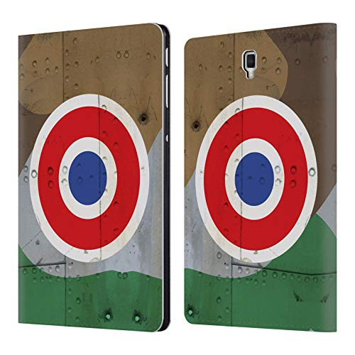 Head Case Designs French Nation Markings Leather Book Wallet Case Cover for Samsung Galaxy Tab S4 10.5 (2018)