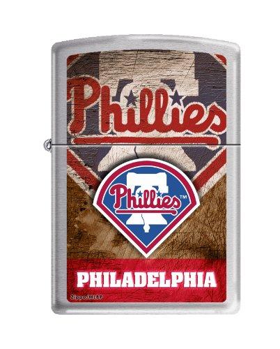 - MLB Philadelphia Phillies Color Zippo Lighter