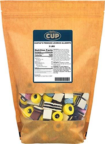 - Gustaf's Premium Licorice Allsorts, 3 Lbs