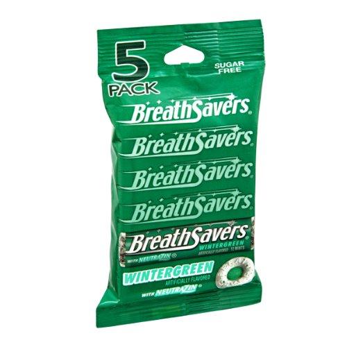 BreathSavers Wintergreen Sugar Free Mints- 5 PK