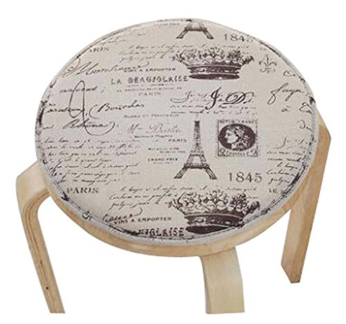 Fashion Cushion Round Stool Cushion Warm Sponge Pad Bar Stool Mat by Black Temptation