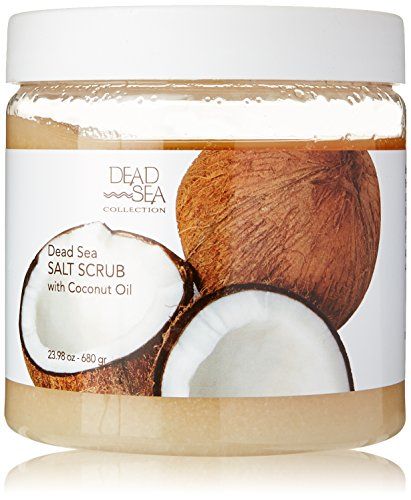 Dead Sea Salt Scrub & Coconut Oil 23.28 OZ ()
