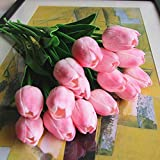 Artificial PU Real Touch Tulips Artificial Flowers