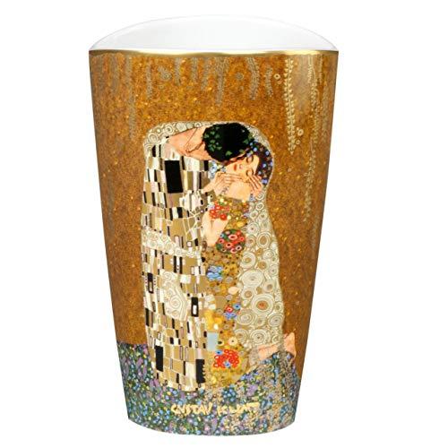 Gustav Klimt The Kiss 19cm Porcelain Vase by Goebel