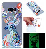 Compatible for Galaxy S8 Silicone Gel Case [Free