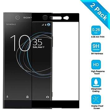 Venga amigos Vidrio Templado para Sony Xperia L3[2 Unidades],Sony ...