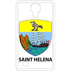 Saint Helena - Country Coat Of Arms Flag Emblem White Samsung Galaxy S4 i9500 Cell Phone Case - Cover
