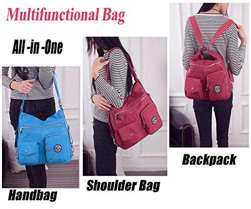 Nylon bag for life office Handbag Women Shoulder Backpack or Waterproof daily Bag Fashion Women Travistar Multifunctional dvB7qP