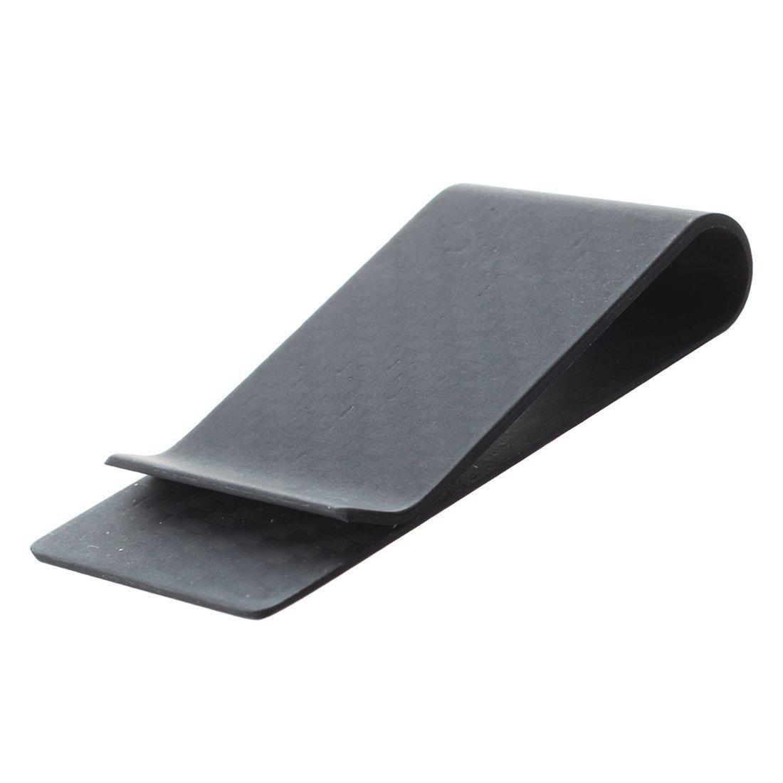 Carbon Fiber Money Clip - TOOGOO(R) Real Carbon Fiber Money Clip Business Card Credit Card Cash Wallet (Matte) SODIAL SPHAGT49502