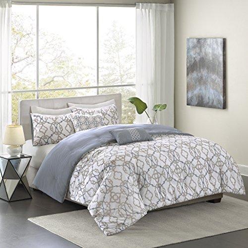 Madison Park Pure MPP10-038 Sophie 5 Piece Cotton Comforter Set