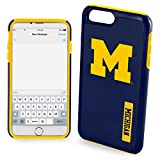 "Michigan Wolverines Impact TPU 2-Piece Dual Hybrid iPhone 8 PLUS / iPhone 7 PLUS / iPhone 6 PLUS / 6s PLUS - 5.5"" Screen ONLY"