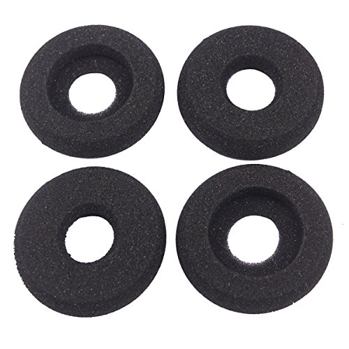 Bingle Ear Cushions Foam Doughnut Replacement for Plantronics Supra Plus Encore and Most Standard Size Office Telephone Headsets H251 H251N H261 H261N H351 H351N H361 H361N (4 Pack) (BEC-DN4)