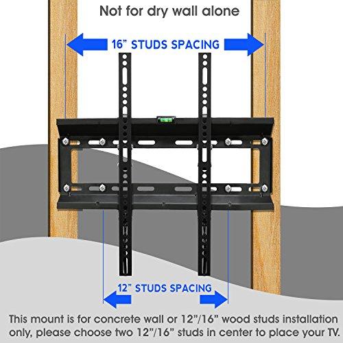 yes4all tilt tv wall mount bracket for 17 47 plasma lcd led oled tvs fits 12 and 16. Black Bedroom Furniture Sets. Home Design Ideas