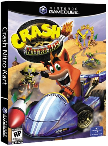 Crash Nitro Kart - - Racing Games Gamecube