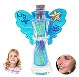 Fairy Magic - Face & Body Glitter-Star Wand Applicator-Glitter Tatoo (Aqua)