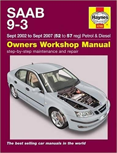 repair manual saab 9 3 2001