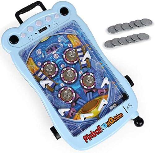 WJJ Juguete de Pachinko para niños, Juego de Mesa de Pinball, máquina de Pinball de Doble Juego: Amazon.es: Hogar
