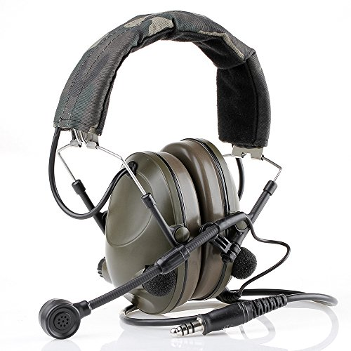Canis Latran Z-Tactical Peltor Style Headset Combat Airsoft Military Sound-Trap Headset Excellent Hearing Protection without PTT