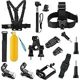 Soft Digits 002 Basic Common Outdoor Sports Kit Accessories for All Gopro Hero4 Silver Black Hero 4 3+ 3 Sj4000 Sj5000 Sj6000 Sports Camera