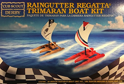raingutter regatta trimaran boat kit