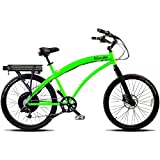 Prodeco Tech Islander V5 SR Green 26″ Electric Bicycle with 36V 500W Motor