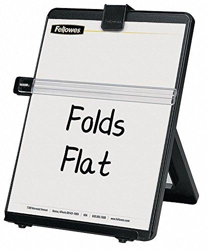 Fellowes Non-Magnetic Letter-Size Desktop Copyholder, Plastic, Black ()