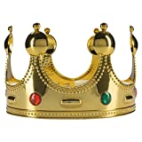 king central - Fun Central AZ985 Gold Queen King or Prince Crown, Royal Crown, Princess Crown, Gold Crown, Crown for Women, Crown for Men, The Crown, Royal Crown, Crowns