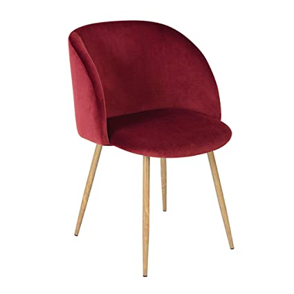 Amazon Com Dining Chair Vintage Soft Velvet Chair Dining Chairs