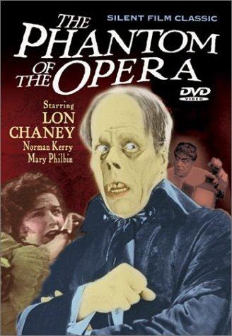 [The Phantom of the Opera (1924) (Silent Film Classic)] (Black And White Silent Film Star Costume)