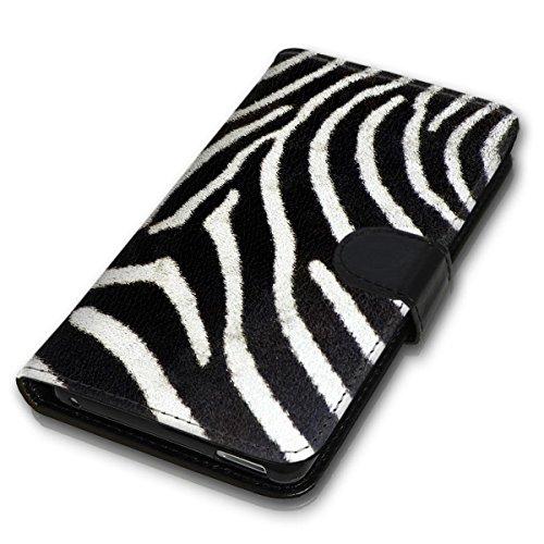 Wallet Book Style Flip Handy Tasche Case Schutz Hülle Schale Motiv Etui für Apple iPhone 6 / 6S - Design Flip MVD302