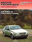 Image de Revue technique de l'Automobile numéro 488.2 : Alfa 75. 1.6, 1.8, 2.0, Twin Spark et turbo