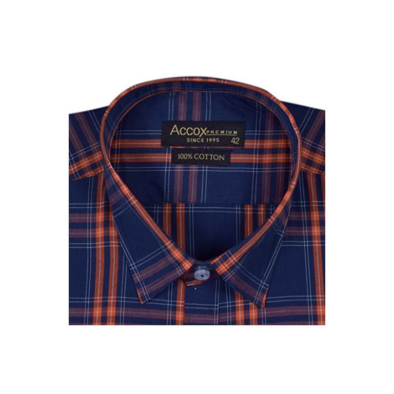 51HG9Uu2atL. SS768  - ACCOX Men's Regular Fit Formal Shirt