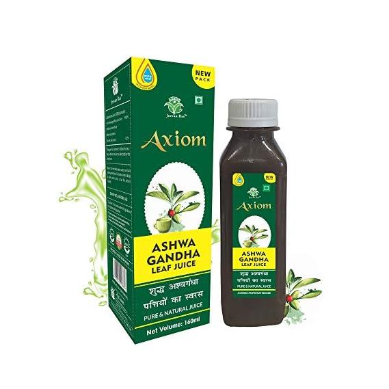 Jeevanras Axiom Ayurveda Ashwagandha Leaf Juice