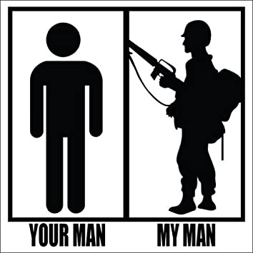 amazon com lpf usa magnet your man my man soldier magnetic sticker sexy army silhouette automotive lpf usa magnet your man my man soldier magnetic sticker sexy army silhouette