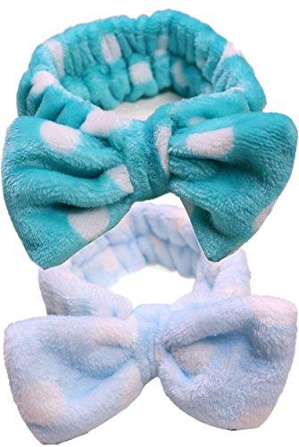 OLLIE ARNES Women's Cute Essential Shower Face Wash Headband Soft Hair Ban - Korean Ban