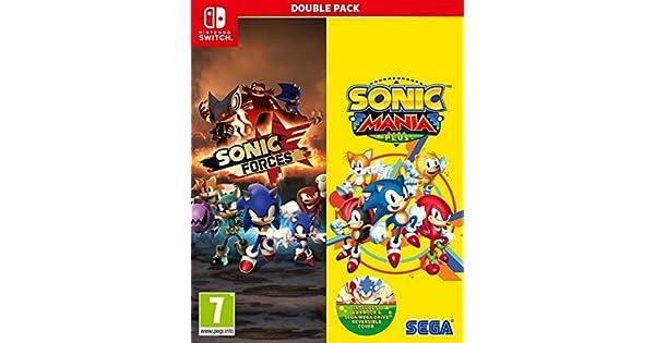 Sonic Mania Plus and Sonic Forces Double Pack (Nintendo Switch) - Importacion inglesa - Multilenguaje (+castellano): Amazon.es: Videojuegos