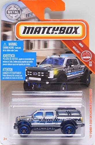 2019 Matchbox Ford Truck Series /'17 Ford Sky Jacker Super Duty F-350 Police