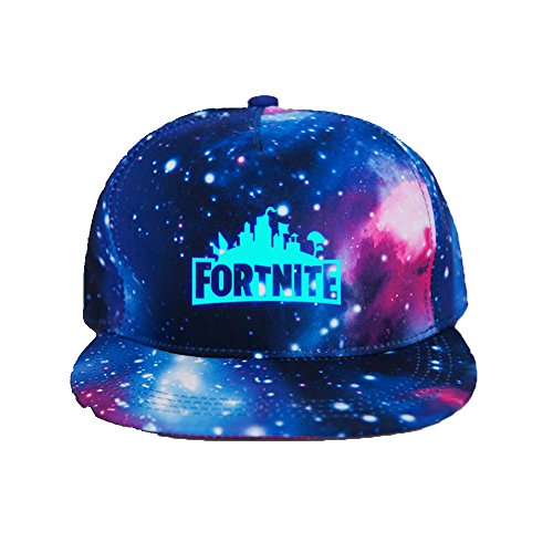 Galaxy Peaked Cap FortNight Game Fans Casquette Modern