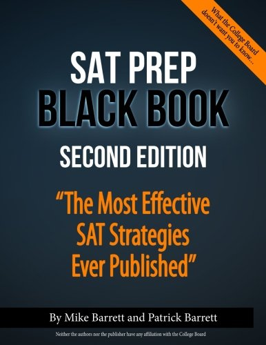 SAT Prep Black Book: The Most Effective SAT Strategies Ever Published cover