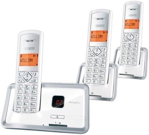 Alcatel Versatis D150 Voice - Teléfono fijo digital inalámbrico (3 terminales): Amazon.es: Electrónica