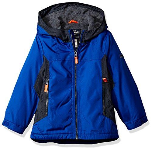 Osh Kosh Toddler Boys' Great Midweight Jacket, Blue/Warf Grey, 2T