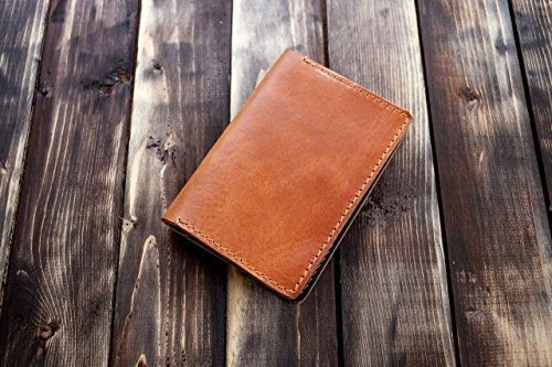 Passport Holder Case and Wallet Entirely Handmade from Italian Leather