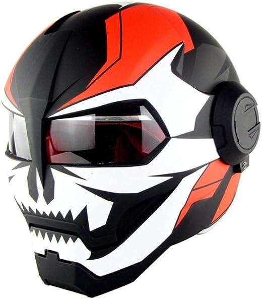 ZPYHJS Casco de Moto Cascos de Motocross Cascos de Ciudad Cascos ...