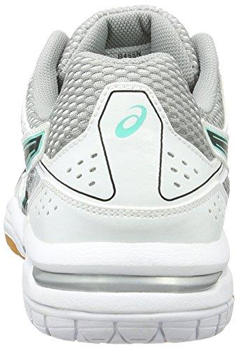 Asics Women's Gel-Rocket 7 Volleyball Shoes Multicolour (White / Black / Cockatoo) DRJWHgZ3