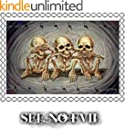 See No Evil Counted Cross Stitch Chart
