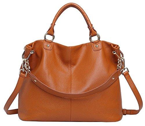 YALUXE Womens 3 Way Leather Shoulder