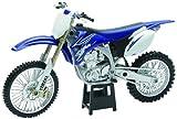 Moto miniature bleue Yamaha YZ450F