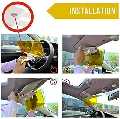 Car Pick-up Sun Visor Extender YIVIDA Car Anti-Glare Sun Visor HD Extender-Night Anti-Glare Visor for Car/&Anti-Dazzle Windshield Driving Visor for eye protection