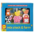 Alex Toys Mix Stack And Farm Stacking Toy Alex Little Hands Series by Alex