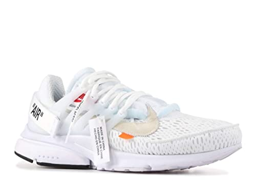 entire collection latest discount well known Nike - The 10: White Air Presto « Off White » - Blanc délavé ...
